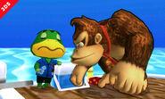SSB3DS Animal Crossing Island