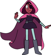 Little red connie hood transparent
