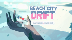 Beach City Drift Title Card HD