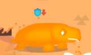 Orange light-Turtle (no shell)