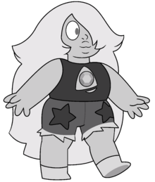 Amethyst (Outfit 5 Acromatized) by RylerGamerDBS (2)