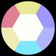 Opal (Amethyst) Gemstone