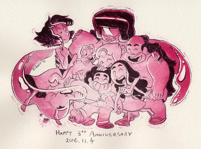 Steven universe aniversario