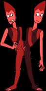 Rutile Twins (Modelsheet) by RylerGamerDBS