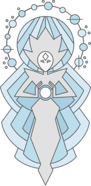 White Diamond's Mural by BlackMoon121