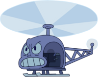 Message Received Helicopter Amethyst