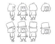 Soup character design