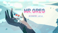 Mr. Greg Title Card HD