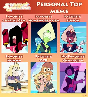 Steven universe personal top meme by anggrc-d91ki74