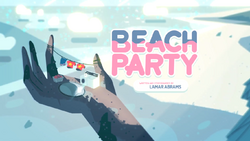 BeachParty CardTittle