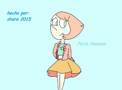 Perla Humana con vestido