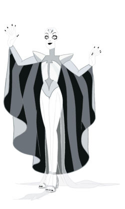 White Diamond (Modelsheet) by RylerGamerDBS