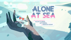 Alone at Sea Title Card HD