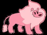Lion Distance render