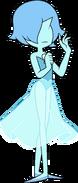 Blue Pearl (Citrine y Galaxy Agate dospuntosve)