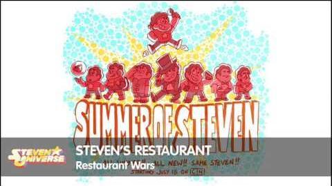 Steven Universe - Steven's Restaurant