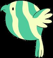 Pájaro Sandía
