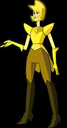 Yellow Diamond (Modelsheet) by RylerGamerDBS