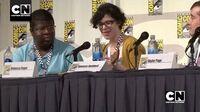 "Rebecca Sugar Performs ""Giant Woman"" Steven Universe Cartoon Network"