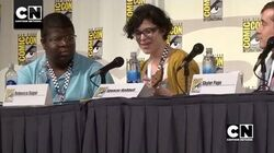 "Rebecca Sugar Performs ""Giant Woman"" Steven Universe Cartoon Network"
