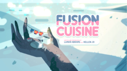 Fusion Cuisine Card Tittle HD
