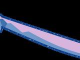 Sable de hielo de Azurita Azulejo