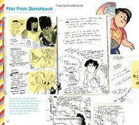 PilotPitchSkechbook