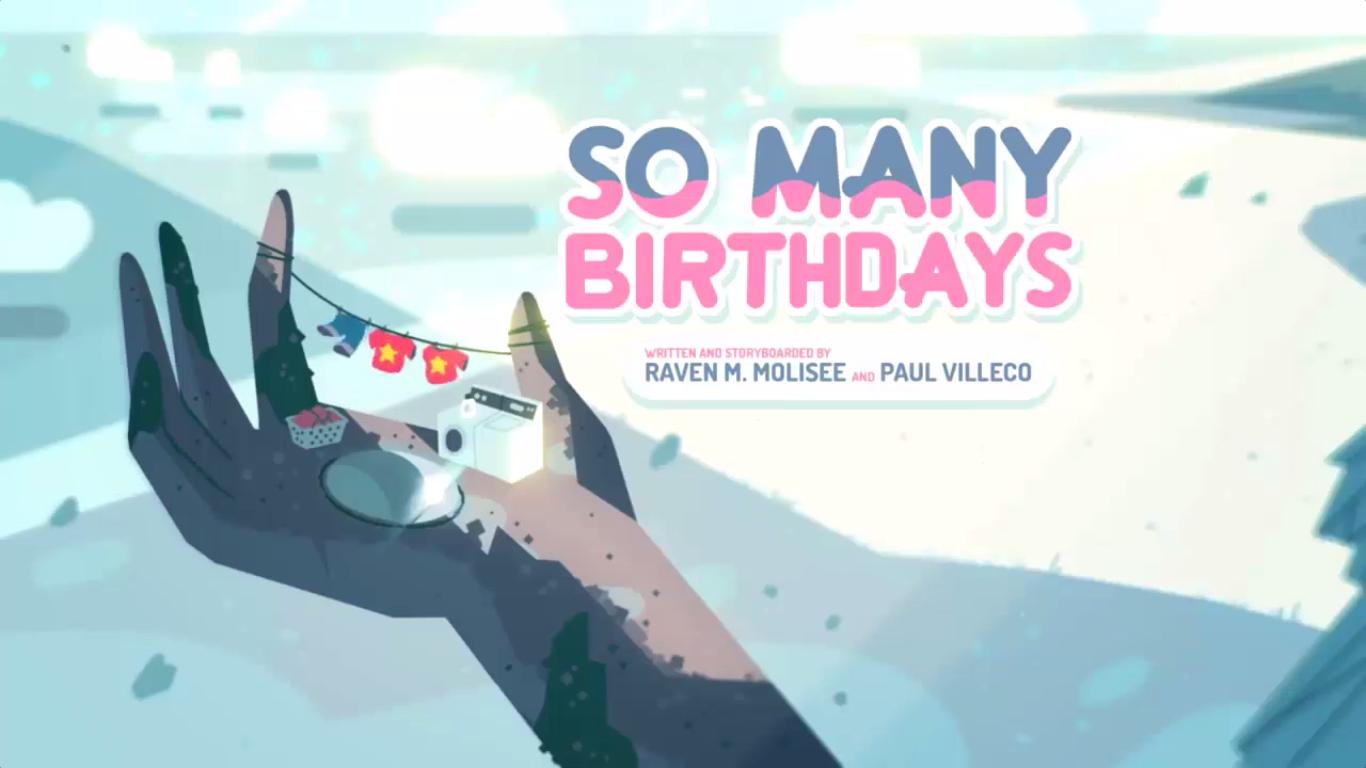 Un Montón de Cumpleaños/Transcripción Castellana | Steven Universe ...