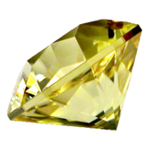 Diamante amarillo (en la vida real)