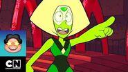 Steven libera a Peridot Steven Universe Cartoon Network