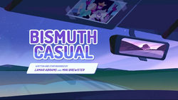 Bismuth casual