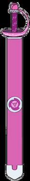 Espada de Rose con la Funda