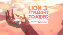 Lion 3 Straight to Video Card TittleHD