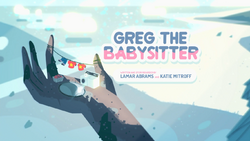 Greg the Babysitter CardHD