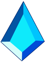 Blue Diamond Gemstone by RylerGamerDBS