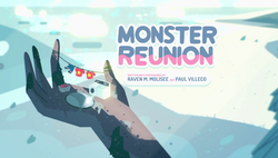 Monster Reunion Title Card HD
