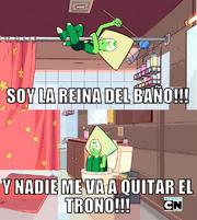 SOY LA REINA DEL BAÑO!!!