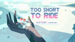Too Short to Ride Title Card HD