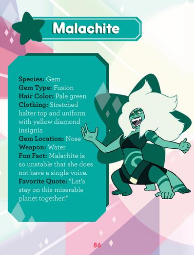 Malachite GTTCG Page