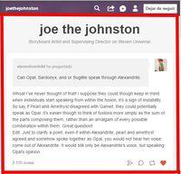 Respuesta de joe