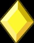 Yellow Diamond Gemstone by RylerGamerDBS