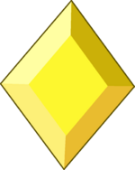 Yellow Diamond Gemstone by RylerGamerDBS