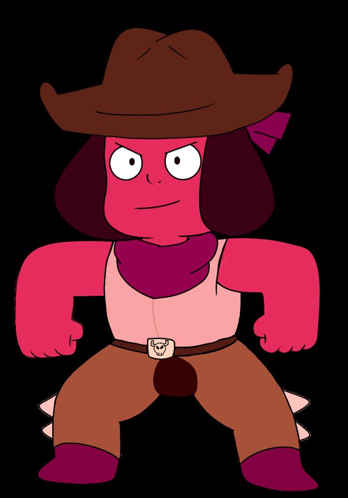 Cowboy Ruby Vector