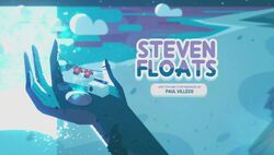 Steven Floats Title Card