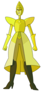 Yellow Diamond by Lenhi