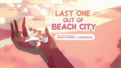 Last One Out of Beach City Title Card HD