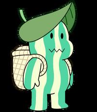 MelonSteven Leaf Hat n Basket 120516WD