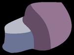 Gema del cluster mano azul y pie rosa