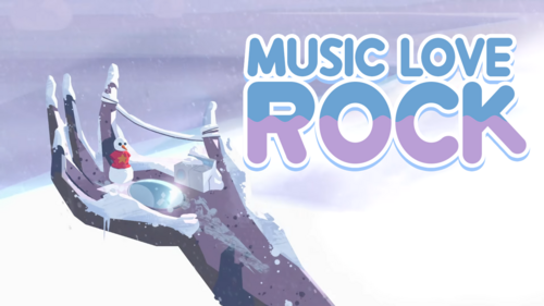 Music Love Rock (Card)