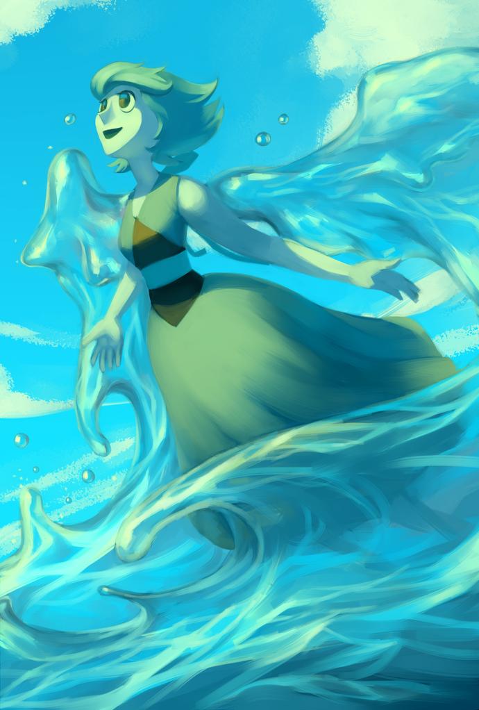Steven universe lapis lazuli by sword dance-d92l8b3